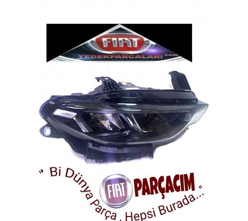 FAR ON SAG  LEDLİ , FIAT EGEA CROSS , ORJINAL FIAT YEDEK PARCA ,  52157293