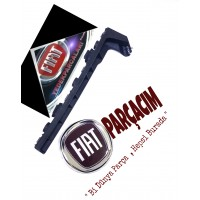 ARKA TAMPON BAGLANTI BRAKETI SAG , FIAT EGEA HATCHBACK ORJINAL FIAT YEDEK PARCA , 52015949