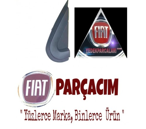 FIAT 500 X SOL ÖN ÇAMURLUK KÖŞE PLASTİĞİ , ORJINAL FIAT YEDEK PARÇA , 735606550