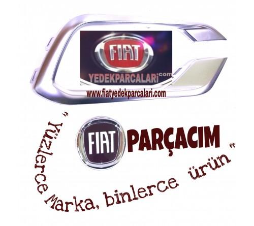 FIAT EGEA 2020 ÖN TAMPON SİS KAPAK ÇERÇEEVESİ KROM SAĞ , ORJINAL FIAT YEDEK PARÇA , 735754052