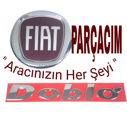 """YAZI ARKA BAGAJ """" DOBLO """" , FIAT DOBLO 2002 - 2012 MODELLER , MUADİL FİAT YEDEK PARÇA , 735341330"""