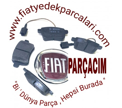 ARKA FREN DİSK BALATASI  TAKIM , FIAT 500 L 1.6 MULTİJET   , LOUNGE ,   LİVİNG  , ORJINAL LFIAT YEDEK  PARÇA , 77366595