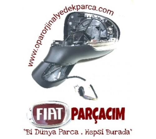 DIS DIKIZ AYNASI SOL , SINYALLI  KAPAKSIZ , FIAT 500 X , ORJINAL FIAT YEDEK PARCA , 735614537