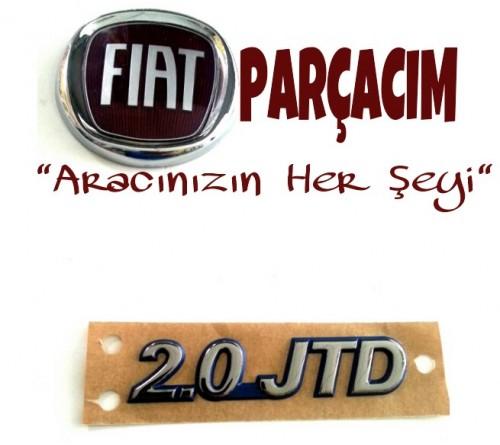 YAZI 2.0 JTD , FIAT SCUDO 2.0 JTD , ORJINAL FIAT YEDEK PARCA , 1486145693