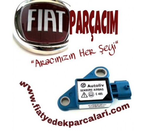 AIRBAG DARBE SENSORU HAVA YASTIGI , FIAT DOBLO 2006 - 2014 MODELLER , ORJINAL FIAT YEDEK PARCA , 46843258