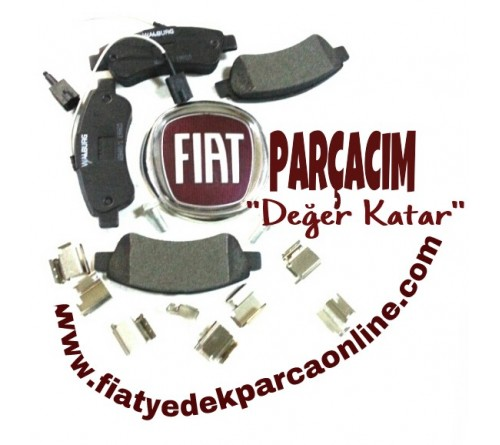 ARKA FREN BALATASI CIFT FISLI , FIAT DUCATO 2.3 MULTIJET 2014 MODEL VE SONRASI , FIAT YEDEK PARCA , RMS-158802, 77367094