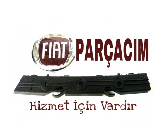 BRAKET , ARKA TAMPON SAG KENAR  BAGLANTI AYAGI , FIAT BRAVO 2007 MODEL VE SONRASI , ORJINAL FIAT YEDEK PARCA , 51775457
