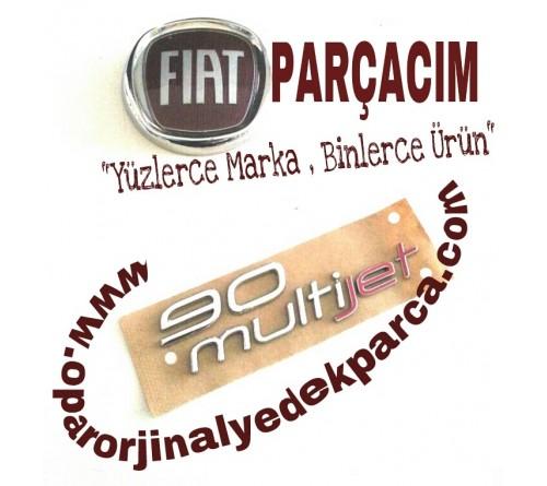 90 MULTIJET YAZISI , FIAT DOBLO 2010 MODEL VE SONRASI , ORJINAL FIAT YEDEK PARCA , 51902211