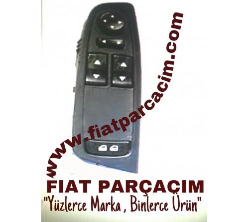 CAM AÇMA ANAHTAR GRUBU , AYNA KONTROL MODULLU , 2 CAM OTOMATIK , FIAT STILO ORJINAL FIAT YEDEK PARÇA , 735297025